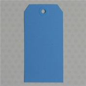 Maya Road ML2592 Manila Shipping Tags No.5 Scrapbooking Embellishments, Robin Blue