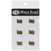 Maya Road VF2468 Vintage Metal Captured Moment Cameras Scrapbooking Charm Embellishments