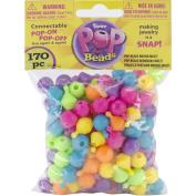 Pop Beads 170/Pkg-Rounder Multicolor