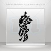 Decals Stickers Tribal Wolf Attack car helmet window bike Garage door 0502 RS245