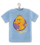 EK Success / Sesame Street Mini T- Shirt Embellishment BIG BIRD For Scrapbooking, Card Making & Craft Projects