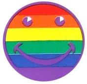 10 Rainbow smilie on Sheet