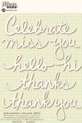Jillibean Soup Wise Words White Sentiments Stickers