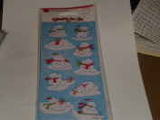 Polar Bear Stickety Doo Da Stickers