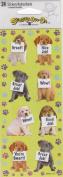 Dog Wow Great Job Scrapbook Stickers
