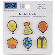 Karen Foster Design Scrapbooking and Craft Embellishment, Party Bubble Brads