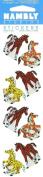 Horse Colt Prismatic Stickers