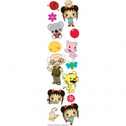 Nickelodeon Ni Hao, Kai-lan Dimensional Slim Stickers