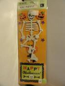 Ghostly Greetings Adhesive Cardboard