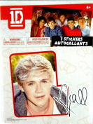 One Direction Individual Heart Sticker-Naill