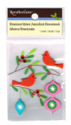 Recollections Holiday Wildlife and Ornaments Dimensional Stickers