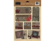 Christmas Tag Alongs Cardstock Stickers