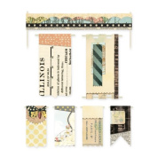 BasicGrey Serenade Flags and Banners for Scrapbooking