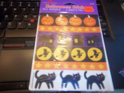 4 Sheets of Halloween Stickers