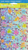 Girl Theme Sparkle Scrapbook Stickers