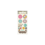 Collectable Unforgettable Decorative Buttons-Happiness