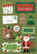 Karen Foster Design Acid and Lignin Free Scrapbooking Sticker Sheet, Tis the Season