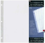 Westrim Crafts 12x12 Top-Loading Postbound Page Protector 5-Pack