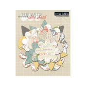 She Said Paper Flower Layers 36/Pkg-