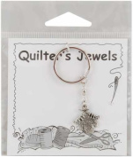 Cedar Creek Quilt Designs Charming Accents Keyrings-Sweater