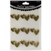 Ruby Rock - It - Bella! Wedding Hearts Foil Stickers