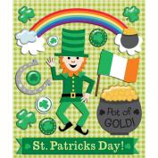 K & Company St Patrick's Day Sticker Medley
