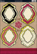 Kanban Crafts Shabby Chic Die-Cut Punch-Out Sheet