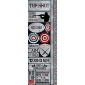 Signature Series 2012 Cardstock Combo Stickers 11cm x 30cm -Top Shot