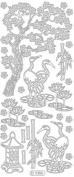 Ecstasy Crafts Zen Garden Black/Gold Stickers