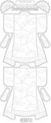 Stitch Design - Kimono - gold