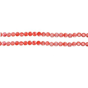 11mm Coral Disc Beads