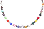 Necklace - Multi - 6mm Packaged Cancer awarness Necklace 18 colours