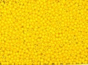 Seed Beads 13/0 Czech Opaque (a full one hank pack) over 60 colours available individually!, Yellow