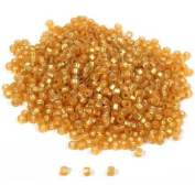 1000 Seed Beads Beading Stringing Jewellery Gold Parts