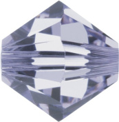 Create Your Style. Elements 4mm Bicone Crystals, Provence Lavender