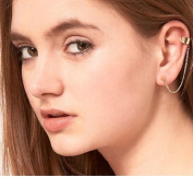 Elegant New Style Hot Selling Fashionable Individual Spike Chain Cuff Earring Ear Clips
