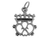 Sterling Silver Irish Celtic Symbol Charm