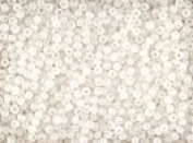 Seed Beads 11/0 Czech More Colours (a full one hank pack) over 350 colours available individually!, White Opal