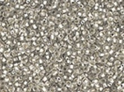 Seed Beads 10/0 Czech Silver Lined Silver