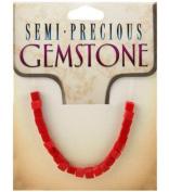 4mm Semi-Precious Gemstones - 23PK/Coral Howlite