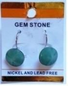 Semi-Precious Stone Green Aventurine Earrinng