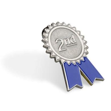 2nd Place Pin