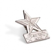 Silver Star Lapel Pin