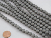 Druzy Agate Round 8mm 47pcs 15.5''strand Silver Colour Finding Charms Necklace Bracelet Beads