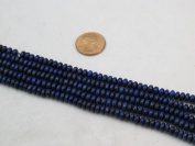 Lapis Lazuli 3*5mm Roundell 15.5'' Strand Mohs Hardness 5 to 6 Blue Gemstone
