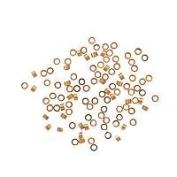 14K Gold Filled Crimp Beads 2 x 1mm (100) 73002