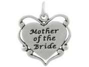 Sterling Silver Mother of the Bride Charm