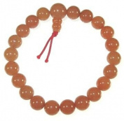 Red Aventurine Wrist Mala 21 Bead