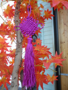 25cm LUOS Feng Shui Purple Chinese Knot Tassel for Fortune-Tl018