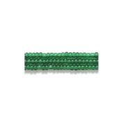 Preciosa Ornela Czech Seed Bead, Transparent Christmas Green, Size 11/0